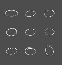 Highlight bubbles vector image