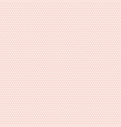 small polka dots seamless pattern on soft pink vector image