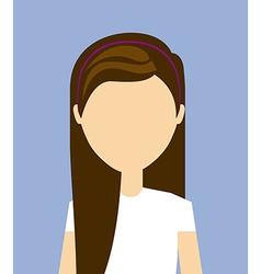 fashion person design vector image