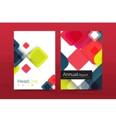 Square business abstract background corporate vector