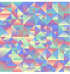 Abstract gradient geometrical triangle background vector