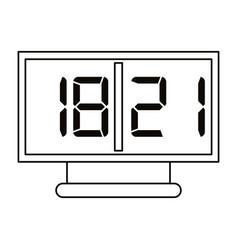 Board score american football icon outline vector