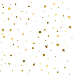 Holiday background seamless pattern with stars vector