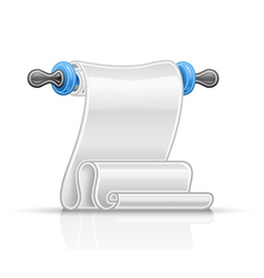 Paper scroll vector