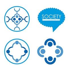 Society design vector