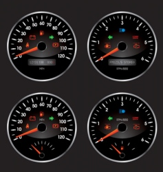 speed2 vector image
