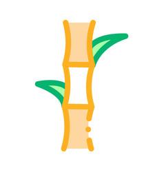 Sugar cane icon outline vector