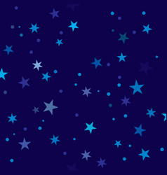 starry night pattern swatch vector image vector image