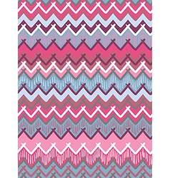 tribal striped seamless pattern Geometric vector image