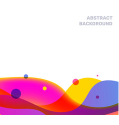 abstract creative of multicolor transparent vector image