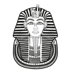 ancient egyptian mask vector image
