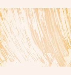 Beige background with brushstrokes vector