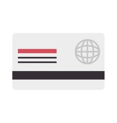 Card money credit debit global icon vector