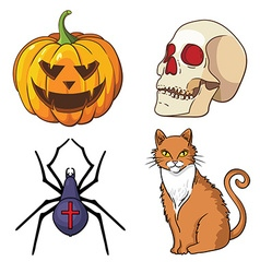 halloween vector image