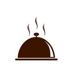 restaurant hot food logo icon vector image