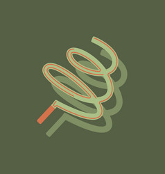 Ribbon gymnastic gymnastics ribbon rhythmic vector