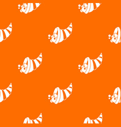 thanksgiving cornucopia pattern seamless vector image