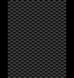Black texture geometric seamless background vector image vector image