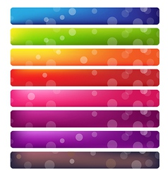 Web Site Banner Set vector image vector image