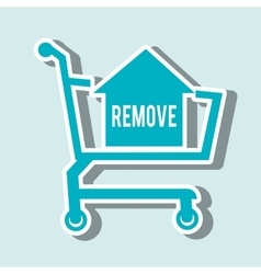 commercial marketing design vector image vector image