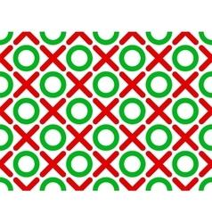 tic tac toe seamless wallpaper vector image