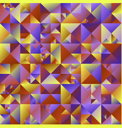 Abstract polygonal geometrical triangle vector
