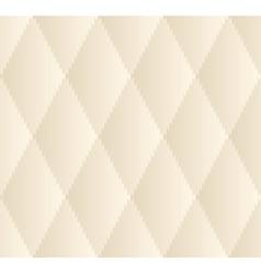Beige Rhombus Seamless Pattern vector image