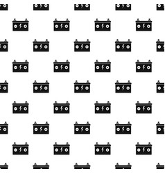 car battery pattern seamless vector image