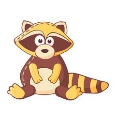 Cartoon raccoon vector
