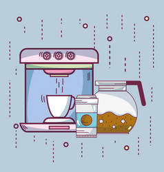 coffee and espresso vector image