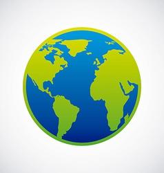 earth design vector image