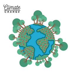 Effects climate change vector