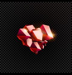 love emblem happy valentines day logotype jewel vector image