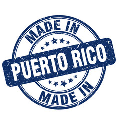 Made in puerto rico vector