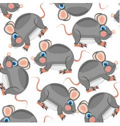 Pattern from mouses vector