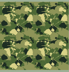 seamless background of a camouflage vector image