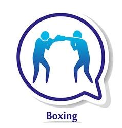BoxingB vector image vector image