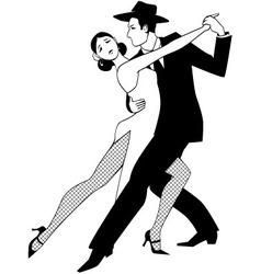 Tango clip art vector image vector image