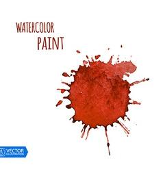 Watercolor Paint Splat vector image