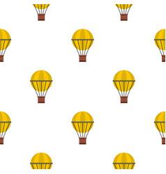 Air balloon journey pattern seamless vector