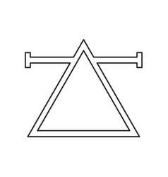 air symbol icon vector image