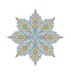 Beautiful indian pattern vector