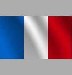 france national flag vector image