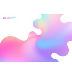 liquid paint vector image