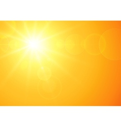 Sunny background vector image