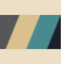 background with diagonal lines and glitch effect vector image