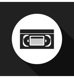video tape design vector image vector image