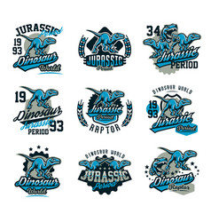 collection of design for printing on a t-shirt vector image