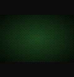 geometric polygons background black and green vector image