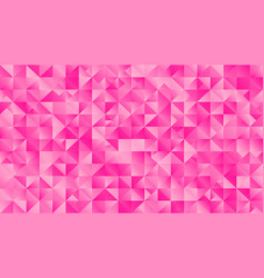 Geometrical triangle desktop background - pink vector